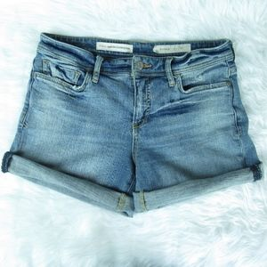 Pilcro And The Letterpress Hyphen Jeans Shorts